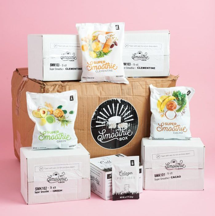 SmoothieBox first order discount