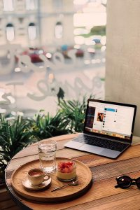 HOW TO CREATE A CAFE EXPERIENCE AT HOME